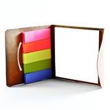 Etiquetas do escritório - quadro Imagem de Stock
