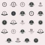Etiquetas do Memorial Day Imagens de Stock