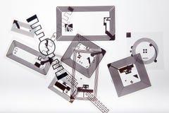 Etiquetas do RFID fotos de stock