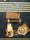 Etiquetas e etiquetas do caso do curso do vintage Imagem de Stock Royalty Free