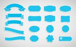 Etiquetas e fitas Fotografia de Stock