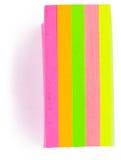 Etiquetas engomadas coloridas Fotografía de archivo libre de regalías