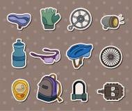 Etiquetas engomadas de la herramienta de la bici Fotografía de archivo libre de regalías