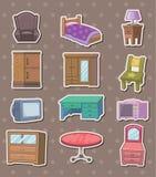 Etiquetas engomadas de los muebles Imagenes de archivo