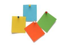 Etiquetas engomadas del color Imágenes de archivo libres de regalías