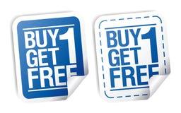 Etiquetas engomadas promocionales de la venta. Imagen de archivo libre de regalías