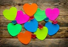 Etiquetas engomadas y caramelo coloridos de la jalea Foto de archivo