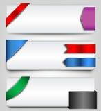 Etiquetas engomadas y elementos del diseño Fotos de archivo libres de regalías