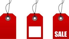 Etiquetas para la venta imágenes de archivo libres de regalías