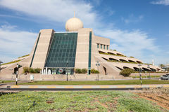 Etisalat Building in the city of Al Ain Stock Images