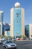 Etisalat office building Abu Dhabi Royalty Free Stock Image