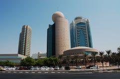 etisalattorn dubai gamla Dubai Arkivbild