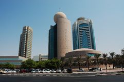 etisalat tower dubai old Dubai Stock Photography