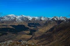 Etive λόφοι του Glen Στοκ εικόνα με δικαίωμα ελεύθερης χρήσης
