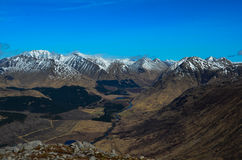 Etive kullar för dalgång Royaltyfri Bild