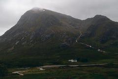 Etive MOR, Glen Coe, Schottland lizenzfreie stockbilder
