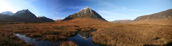 Etive reflection Stock Images
