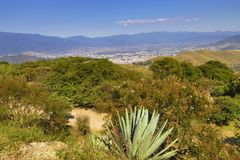 Etla Valley in Mexico royalty free stock images