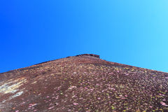 Etna倾斜-西西里岛 库存照片