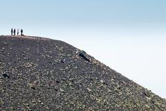 etna挂接 免版税图库摄影