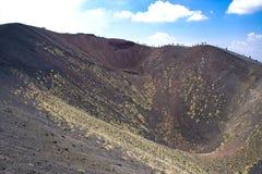 Etna火山,意大利 免版税库存照片