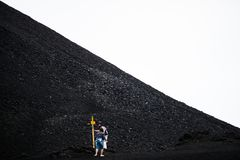Etna火山,西西里岛,意大利 免版税库存照片