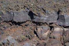 Etna火山,西西里岛 库存图片