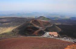 etna火山 图库摄影