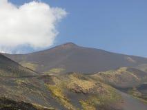 ETNA火山 免版税库存照片