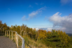 Etna,在山的10月 免版税库存图片