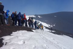 etna επικολλά στοκ εικόνες με δικαίωμα ελεύθερης χρήσης