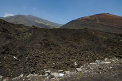 Etna ηφαίστειο, Σικελία, Ιταλία Στοκ εικόνα με δικαίωμα ελεύθερης χρήσης