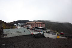 Etna ηφαίστειο Σικελία Στοκ Εικόνες