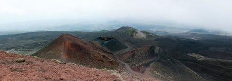 etna ηφαίστειο όψης Στοκ φωτογραφία με δικαίωμα ελεύθερης χρήσης