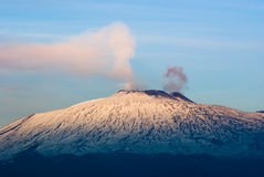 etna ηφαίστειο Στοκ Φωτογραφίες