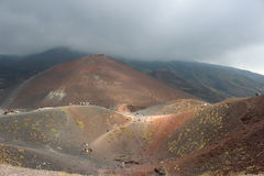 Etna κοιλάδα Στοκ Εικόνα