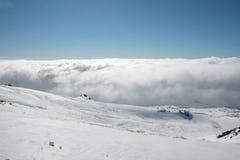 Etna που καλύπτεται από το χιόνι - Σικελία Στοκ φωτογραφία με δικαίωμα ελεύθερης χρήσης