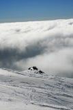 Etna που καλύπτεται από το χιόνι - Σικελία Στοκ Εικόνες