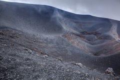 Etna σύνοδος κορυφής Στοκ Φωτογραφίες