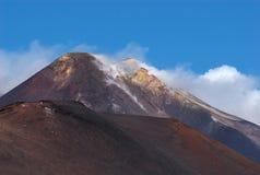 etna Италия mt Сицилия Стоковая Фотография