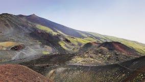etna stockfoto