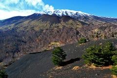 etna Стоковое Изображение RF