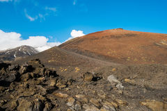 etna Foto de Stock Royalty Free