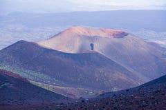 Etna. Trekking on Etna volcano in Sicily Royalty Free Stock Photo