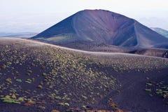 Etna. Trekking on Etna volcano in Sicily Stock Photography