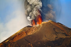 Etna activity Stock Images