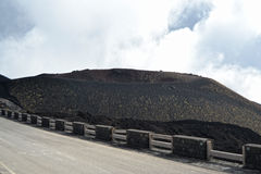 Etna - ancient craters Royalty Free Stock Image