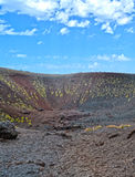 Etna - ancient craters Stock Photo