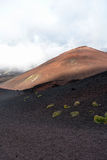 Etna - ancient craters Stock Images