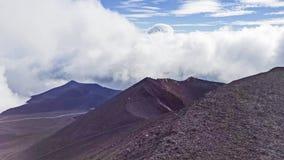Etna berg Arkivbilder